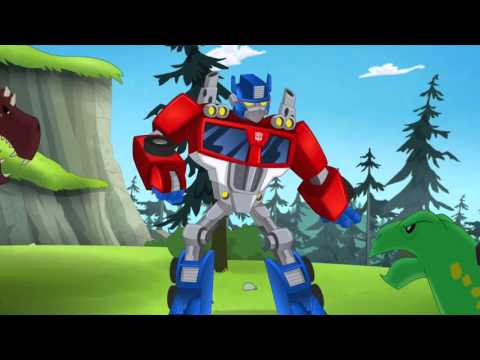 Transformers Rescue Bots Optimus Prime Becomes Primal