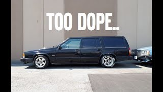 HOW TO MAKE A VOLVO WAGON LOOK F@#KING GANGSTER!
