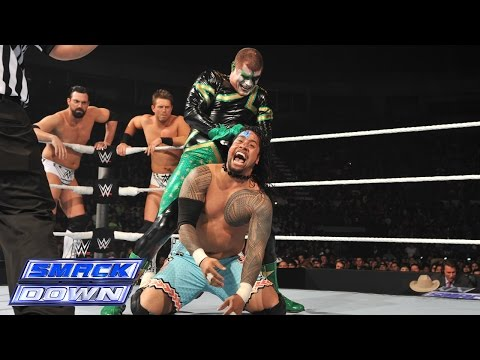 Triple Threat WWE Tag Team Title Match: SmackDown, January 9, 2015