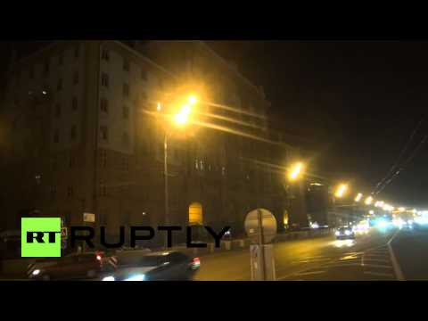 Russia: 'Save kids from Ukraine' projected on US embassy