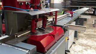 MPS automatic Mitre cutting with upstroke steel cutting machine
