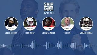 UNDISPUTED Audio Podcast (7.31.19) with Skip Bayless, Shannon Sharpe & Jenny Taft | UNDISPUTED