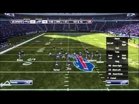 MSFL Madden 12 Gameplay: Week 3 vs. xDP17_x10_xGhost (Buffalo Bills vs. New England Patriots)