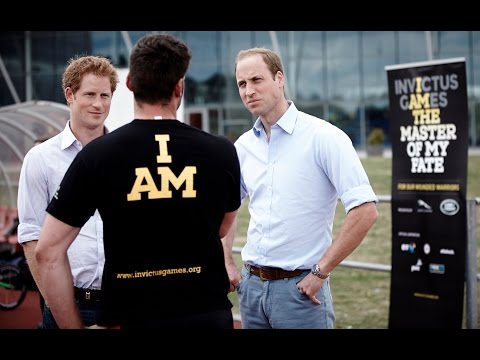The Duke of Cambridge & Prince Harry surprise our hopefuls