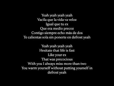 Enrique Iglesias, Bad Bunny - El Bano (Lyrics/Letra)