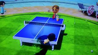 Table Tennis Wii Sports Resort Video Game