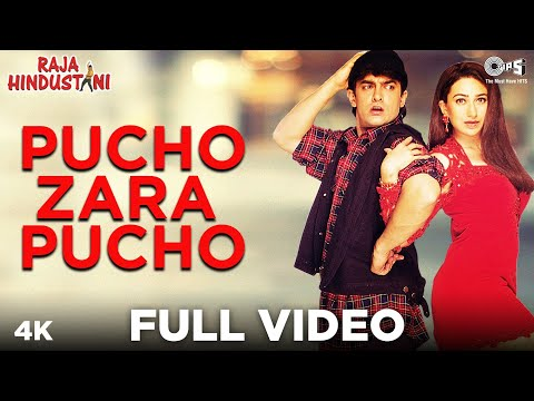 Pucho Zara Pucho - Raja Hindustani | Aamir Khan & Karisma Kapoor | Kumar Sanu & Alka Yagnik
