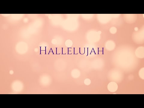 Hallelujah (full song)
