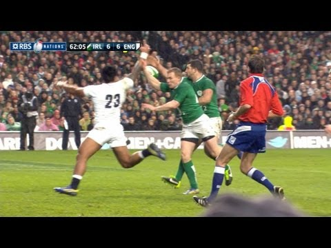 Ireland v England 2013 Six Nations | Six Nations Rugby Video Highlights - Ireland v England 2013 Six