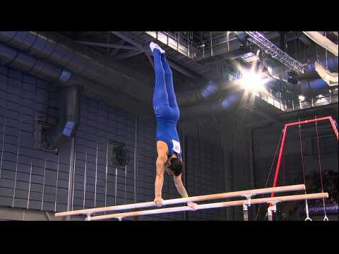 Danell Leyva (USA) Parallel Bars