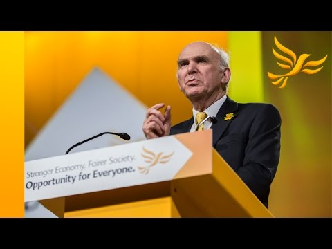 Vince Cable's speech to Spring Conference 2015