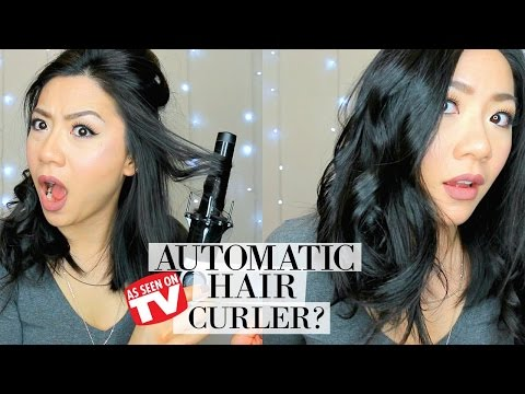 How to Curl your hair in 10 minutes or less!!    KISS Instawave Curler First Impression & Review