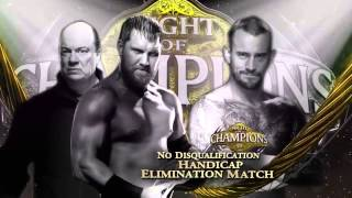 Nigt Of Champions 2013 Full Match Card