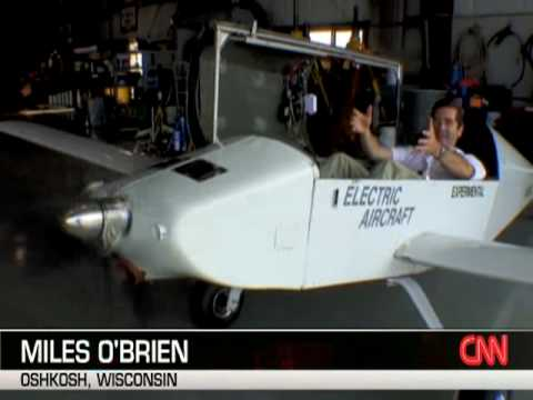 Electric Airplane Electraflyer-C on CNN