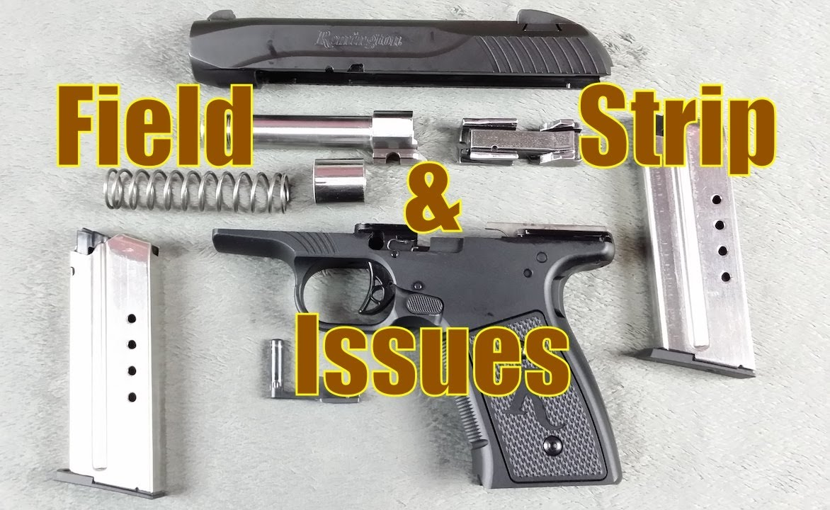 Remington R51 Field Strip & Issues - YouTube