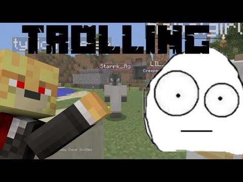 Minecraft PlayStation 3: Custom Skins Trolling On Kids! (Funny Reaction, Read desc.)