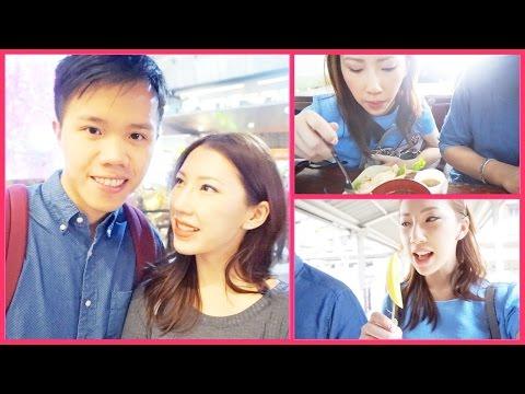 VLOGMAS 19 ❆ NON-STOP EATING IN BANGKOK (DAY 2) | BethniVlogs