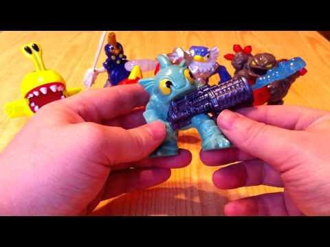 Что делают игрушки Скайлендеры в Хэппи Мил