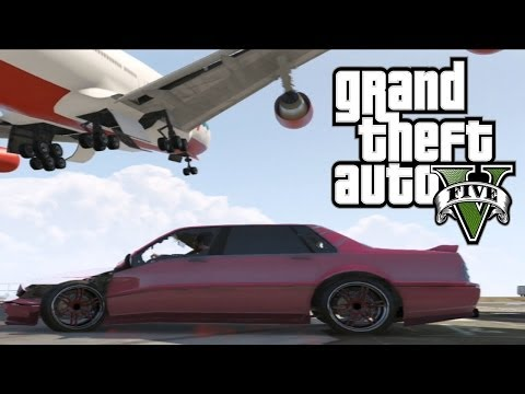Best Airplane Take Off Crashes Episode 15 GTA 5