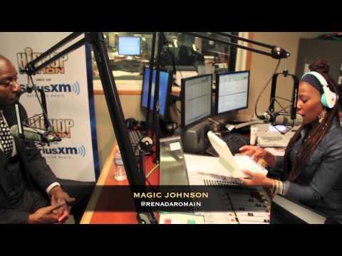 Magic Johnson Explains OraQuick Home HIV Test