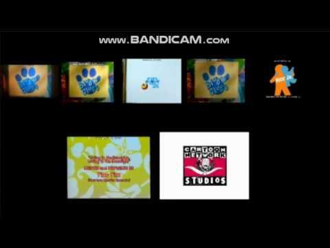 Blue's Clues, Powerpuff Girls, Sesame Street and SpongeBob SquarePants Credits Remix