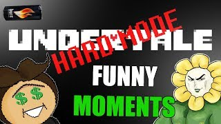 UNDERTALE FUNNY MOMENTS?! [Hard Mode]