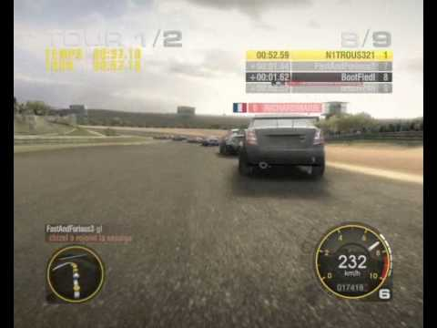 GRiD RACE DRIVER PC - ONLINE GAMEPLAY - EURO TOURING CARS - COLL OFF - CHEVROLET LACETTI - JARAMA