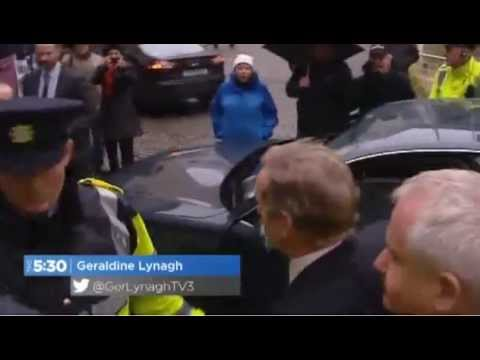 Anti-water Protesters Unwelcome Taoiseach Enda Kenny