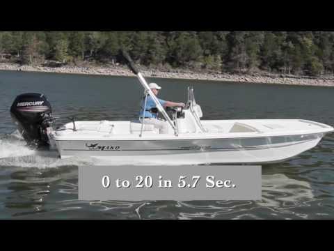 Mako Pro Skiff 19 CC (2017-) Test Video - By BoatTEST.com