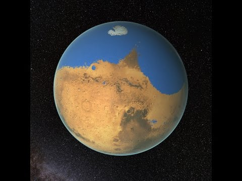 Mars Had Ocean With More Water Than Arctic