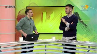 Wake Up, 16 Janar 2017, Pjesa 1 - Top Channel Albania - Entertainment Show