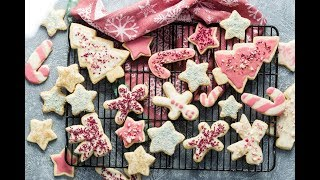 Healthy Gingerbread Cookies Gluten Free Vegan Christmas Cookies
