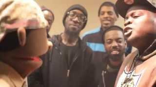 Peanut Live 215 VS Eness Rap Battle