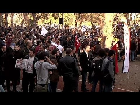 Turkish Students Rally Over Erdogan's Plans Against Mixed-sex Accommodation video