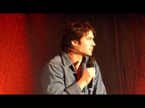 Ian Somerhalder at BloodyNightcon Europe Brussel Q&A 11-05-13 KLZ events