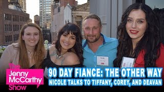 "Deavan, Tiffany, and Corey from ""90 Day Fiancé: The Other Way"""