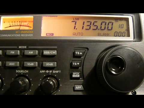 7135khz,Ham Radio W1MBB(Loxahatchee, FL,United States) 06-35UTC.