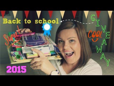 Back To School - Giveaway 2015 Zakończony Ogłoszenie Zwycięzcy :)