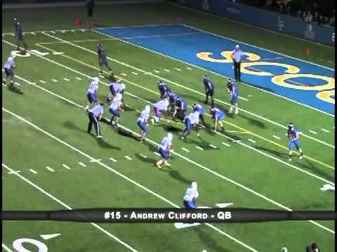 Lake Forest High School (IL) QB #15 Andrew Clifford - Class of 2013