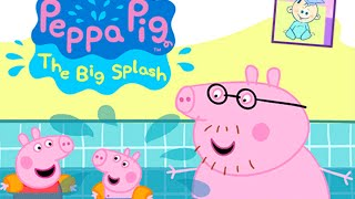 Peppa Pig Diving Game - Five Little Piggies Nursery Rhyme - From Baby Teacher
