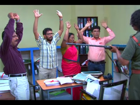 Marimayam Episode 177 Maoists attack at Office