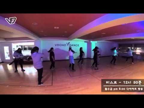 K-Pop Dance :: 비스트(Beast) - 12시30분(12:30) :: Vroad Dance School