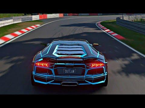 Gran Turismo Sport - Gameplay Lamborghini Aventador Tron @ Nurburgring Nordschleife [4K 60FPS]