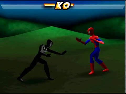 one of my favorite flash games/venom vs spiderman