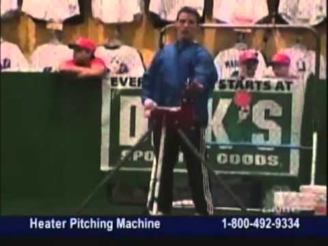 Heater Pro Pitching Machine Heater Baseball Pitching