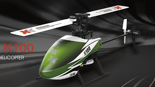 XK K100 Brushless Helicopter - Test Flight