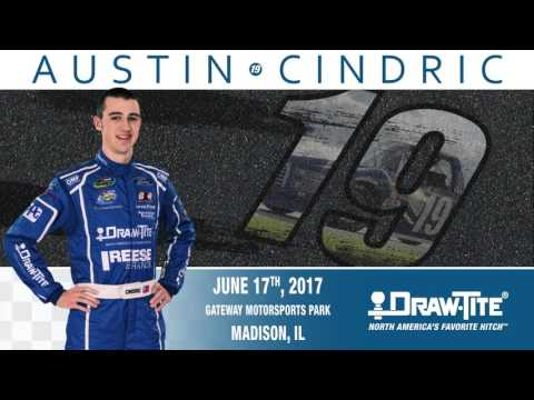 Austin Cindric Races Gateway Motorsports Park in the #19 Draw•Tite® Ford