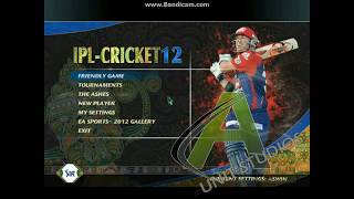 'A' UNIT STUDIOS Presents EA Cricket 12 + IPL 5 Trailer & Download link!