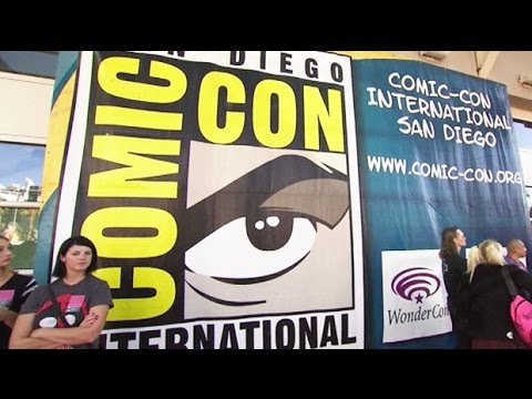 Fans queue overnight to see Benedict Cumberbatch at San Diego Comic Con