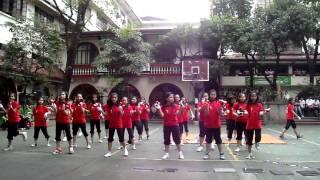 PWU-JMD Sophomores Cheers & Yells 2010-2011